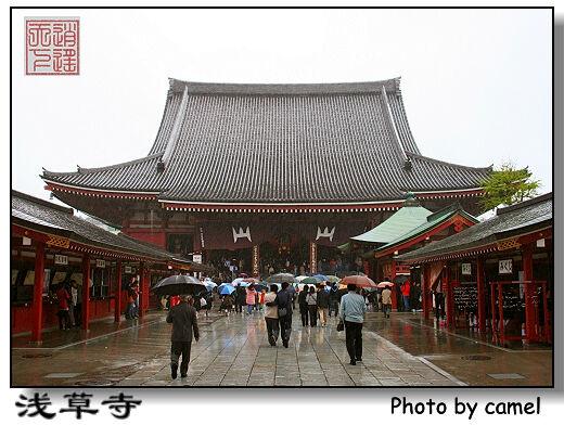 建于628年的浅草寺是东京最古老的寺庙