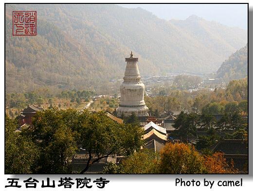 核心景区西大门,五台山作为文殊菩萨的道场与浙江的普陀,四川的峨眉