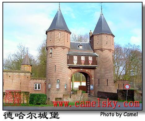 现在的城堡不仅外观美丽图片