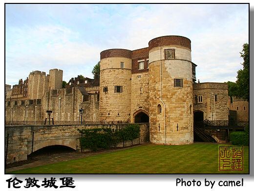 城堡轮廓简笔画